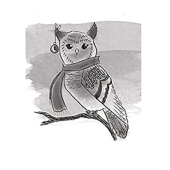 Spellbinders Winter Owl 3D Cling Stamp Set (DSC-002)