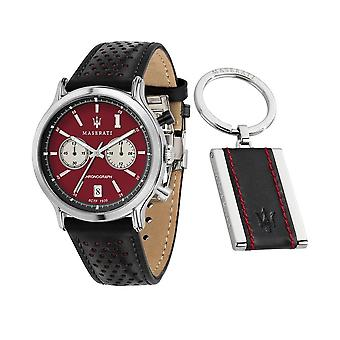 Maserati Men's Watch Legend R8871638002 Limited Edition + Keychain