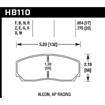 Hawk Performance HB110U.654 DTC-70