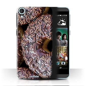 STUFF4 Case/Cover for HTC Desire 820s Dual/Chocolate/Tasty Donuts