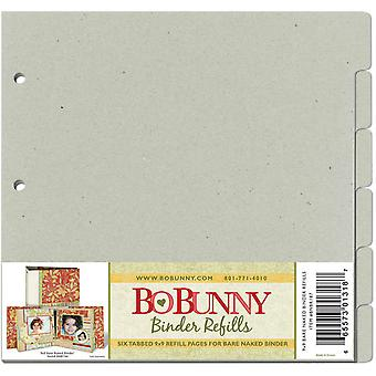 Bo Bunny 3 Ring Bare Naked Binder Pages 9