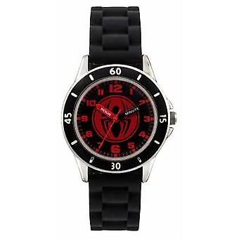 Avengers Childrens Spider-man Black Strap SPD3456 Watch