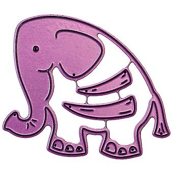 Cheery Lynn Designs Whimsical Die-Elephant, 2