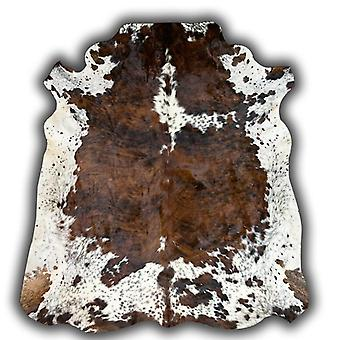 Rugs - Normandy Leather Cowhide - Brown & White