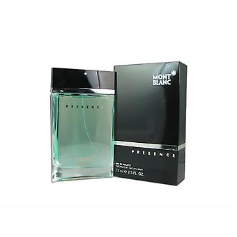 Presence for Men by Mont Blanc 2.5 oz EDT Spray