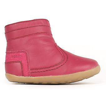 Bobux Step Up Girls Bolt Boots Rose Pink