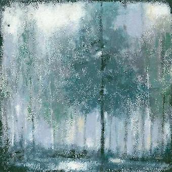 Impressão de cartaz sombria floresta 2 por Norman Jr Wyatt