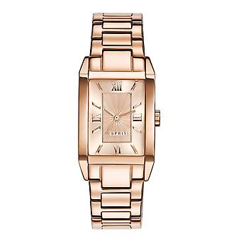 ESPRIT ladies watch bracelet watch Helena stainless steel Rosé ES000EO2013