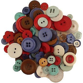Buttons Galore Button Bonanza-Winter Wonderland BB-94