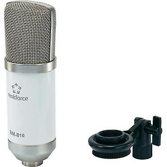 Studio microphone Renkforce BM-810 Transfer type:Corded incl. clip