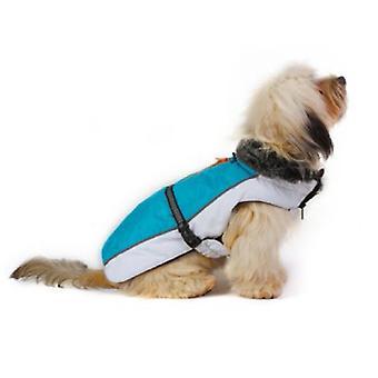 Dog Gone Smart Aspen jakker Aqua / hvid 10