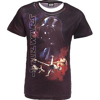 STAR WARS | 3D T-Shirt | The Force Awakens | Darth Vadar | Age 9-10