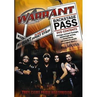 Warrant - They Came From Hollywood [DVD] USA import