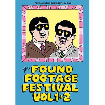 Fundet optagelser Festival: Combo 1 & 2 [DVD] USA importerer