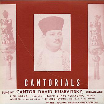 David Kusevitsky - Cantorials [CD] USA import