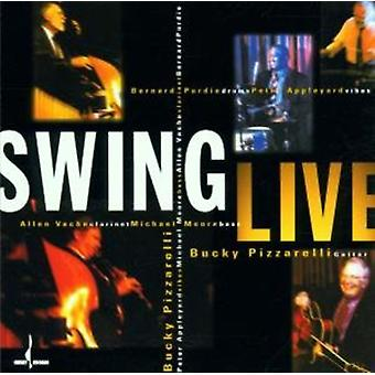 Bucky Pizzarelli - Swing Live [CD] USA import