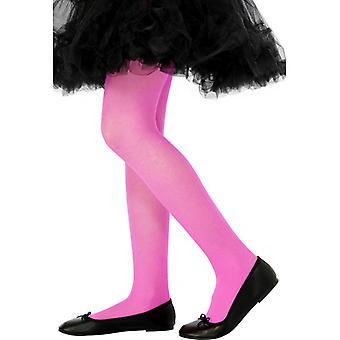 Barn tights leggings rosa rosa Leggings for barn 2-5 år