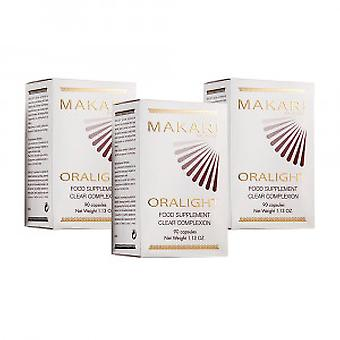 Makari Oralight Clear Complexion Capsules - 3 Pack