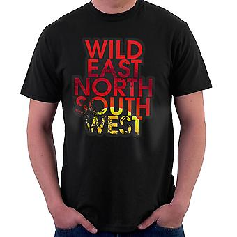 Wild East North South West Men's T-Shirt