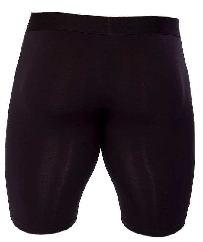 Obviously Essence Naked Boxer Brief 9 Inch Leg - Black