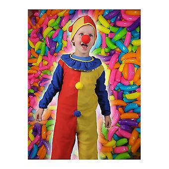 Bambini costumi bambini piccolo costume da clown