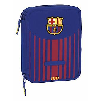 F.C. Barcelona Porta Cd Blau Grana Barca (Toys , School Zone , Pencil Case)