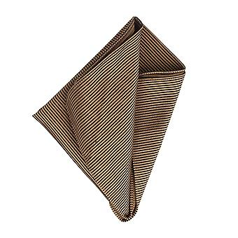 Frédéric Thomass handkerchief Hanky Cavalier cloth Brown Pochette silk