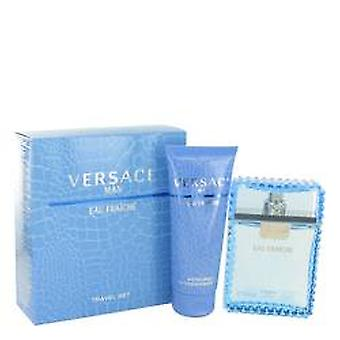 Versace Man Eau Fraiche estuche EDT de 30ml + Gel de ducha 50ml