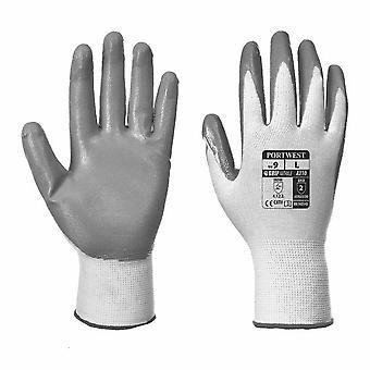 sUw - Mens Vending Smooth Nitrile Flexo Grip Gloves