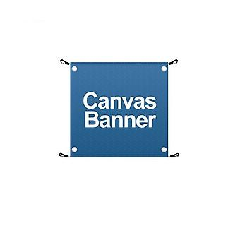 Double Sided Cafe Barrier Banner - Canvas