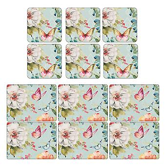 Pimpernel Colourful Breeze Placemats and Coasters Set