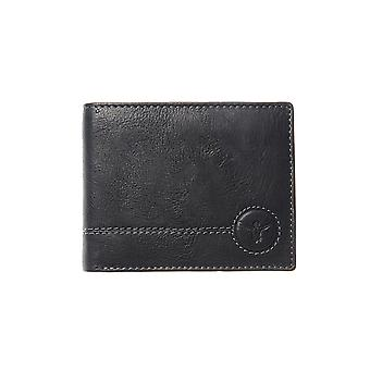 Chiemsee – Wetland – trifold wallet – black