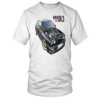 BMW M3 1990 Classic Car Herre T-shirt