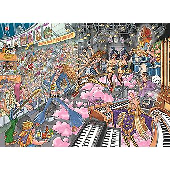 Wasgij Destiny 16 Old Time Rockers Jigsaw Puzzle (1000 Pieces)