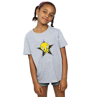 Looney Tunes Girls Tweety Pie Star T-Shirt