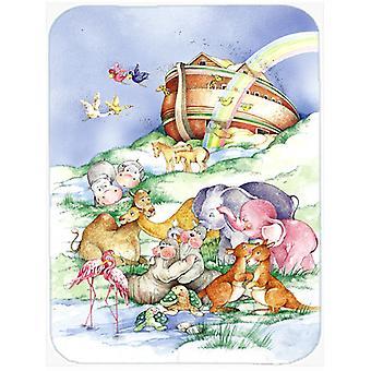 Carolines Treasures  APH0229LCB Noah's Ark  Glass Cutting Board Large