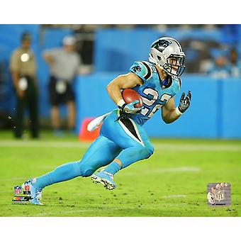 Christian McCaffrey 2017 akcji Photo Print