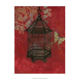 Asian Bird Cage II Poster Print by Norman Wyatt Jr (13 x 19)