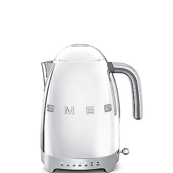 Polished Stainless Steel 50's Retro Style Variable Temperature Kettle