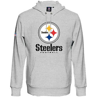 Majestic OUR TEAM Hoody - Pittsburgh Steelers grey