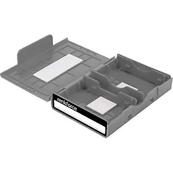 Hard drive storage box (all makes) Renkforce HY-EB-8500 Grey