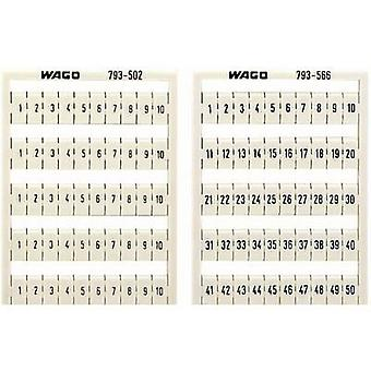 WAGO 794-4603 WMB-name Cards Compatible with (details): WAGO passage clamp series 2001