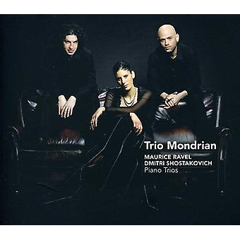 D. Shostakovich - Ravel, Shostakovich: Piano Trios [CD] USA import