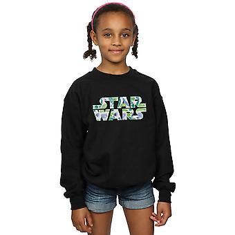 Star Wars filles Palm Logo Sweatshirt