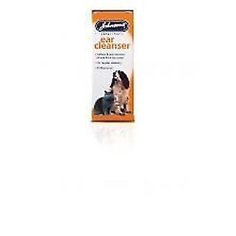 Johnsons Cat and Dog Ear Cleanser 15ml