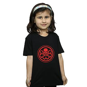 Marvel Girls Hydra Logo T-Shirt