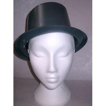 Top Hat Kunststoff Plain Black
