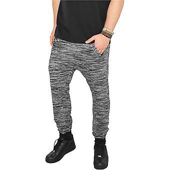 Urban classics sweatpants fitted Terry melange