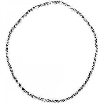 Stainless steel chain wide King chain stainless steel 50 cm necklace chain carabiner