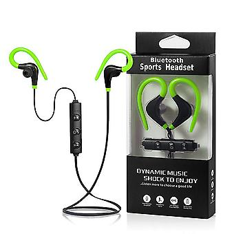 Sport Bluetooth In-Ear headset-green-true stereo